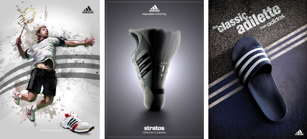 adidas shoe poster