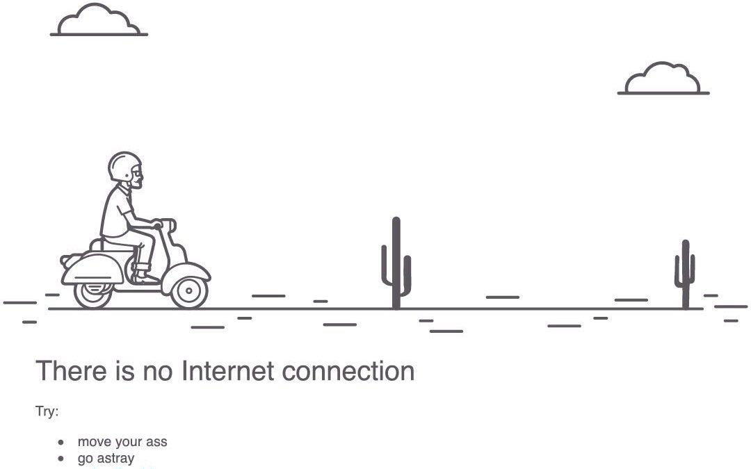 No Internet Connection