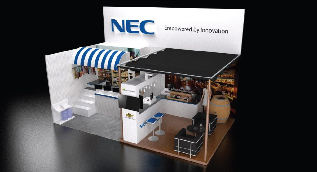 NEC Booth Exhibition