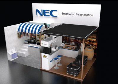 NEC Booth Exhibition