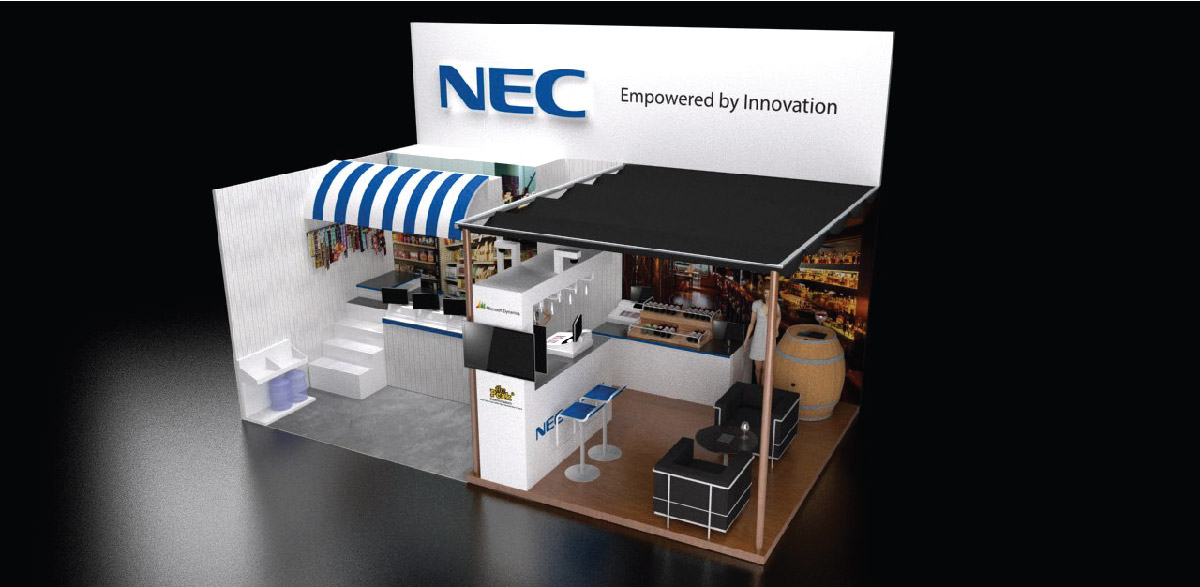 NEC booth